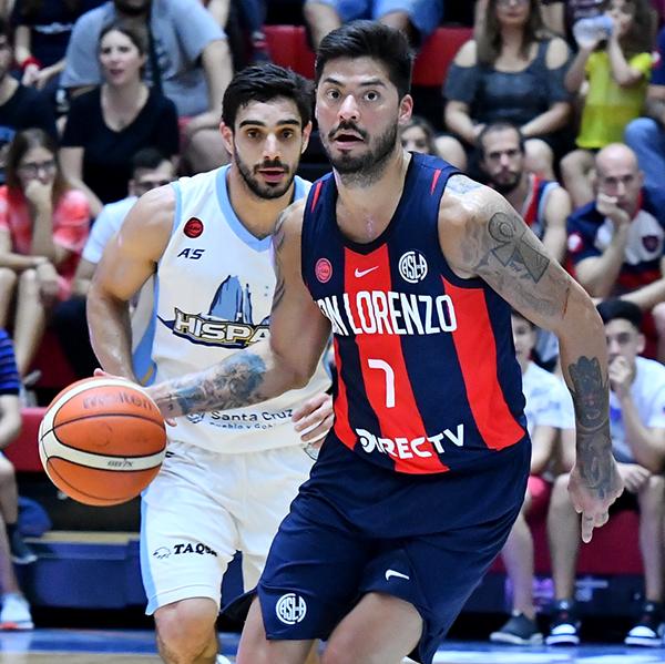 LNB 19-20: San Lorenzo 87 – Hispano Americano 83 / Tucker y Aguirre (SLA) 20 puntos c/u - InfoLiga - Básquet esencial